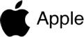 Apple brand logo