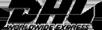 DHL Worldwide Express brand logo