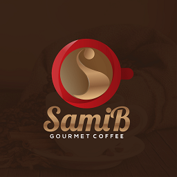 Samib Gourmet Coffee Logo