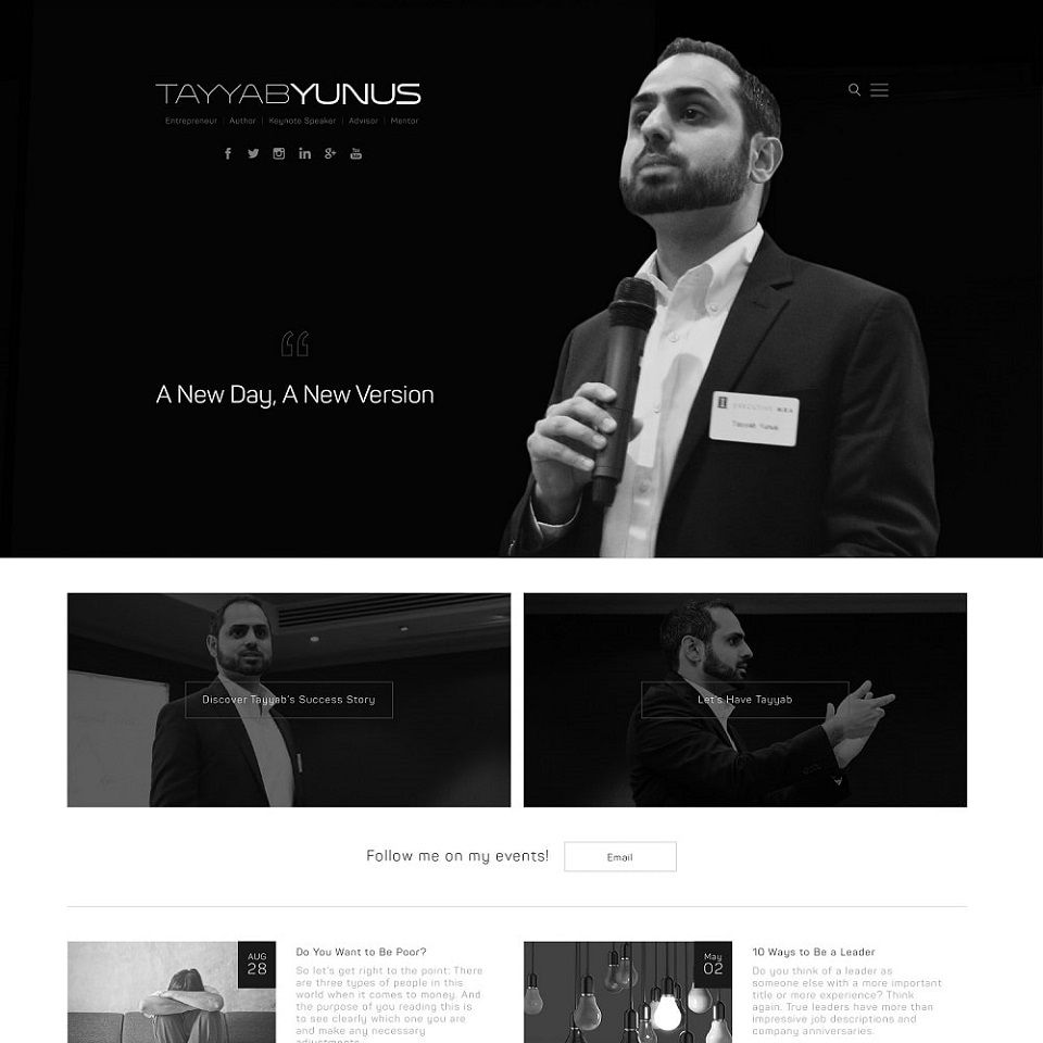Tayyab yunus website