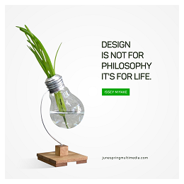 JSM social media design with a light bulb and a quote