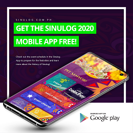 Campaign post for Sinulog App