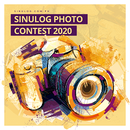 Sinulog Photo Contest 2020 social media with a camera graphic design