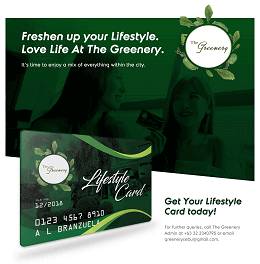 The Greenery Card Launching Design