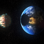 Earth is being shadowed by a planetary virus